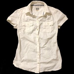Converse Short Sleeve Button Down I